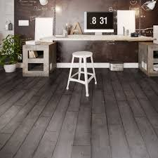dark grey washed wood effect waterproof luxury vinyl click