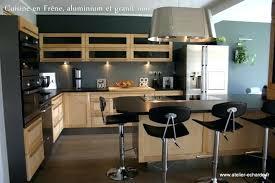 cuisine alu et bois cuisine complete ikea amazing cuisine bois clair ikea u denis