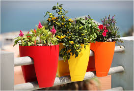 railing planters by greenbo