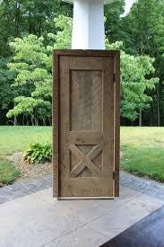Pre Hung Closet Doors Rustic Pre Hung Closet Door Reclaimed Barn Wood 3234