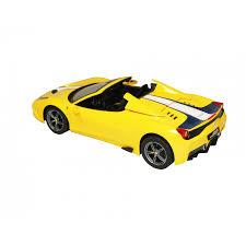 ferrari 458 sketch rastar remote control 1 14 ferrari 458 speciale a convertible car