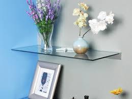 impressive ideas glass shelves lowes contemporary decoration shelf