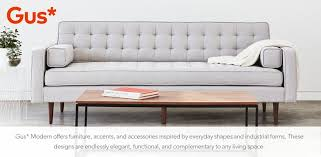 gus modern gus modern sofas chairs u0026 dining allmodern