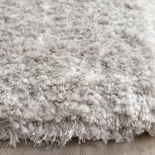 Modern Rugs Toronto Light Grey Shag Toronto Shag Collection Safavieh