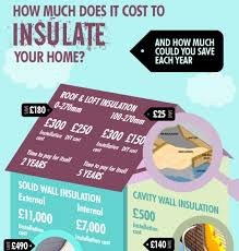 How Much Does It Cost How Much Does It Cost To Insulate Your Home Infographic