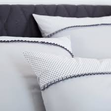 Percale Sheet Set Luxury Cotton Percale Bedding Set Frivole Made In France