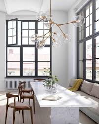 Elegant Dining Room Chandeliers Lighting Beauty Home Lighting Decor With Floating Bubble