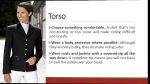 how to choose safe horse riding clothes youtube