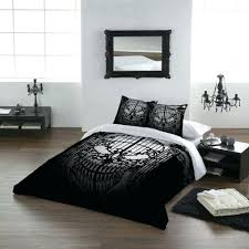 zspmed of skull bedding sets with skull bedspreads smoon co