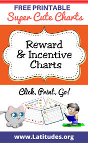printable homework incentive charts free printable reward incentive charts for teachers students