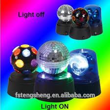 mini disco ball light 360 rotating small locker mini disco ball led disco lights mirror
