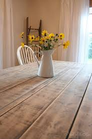 farmhouse table makeover nest of bliss