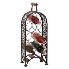 wine rack 72 bottles stackable storage 6 tier solid wood display
