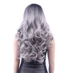 Diy Halloween Wedding Decorations by Aliexpress Com Buy 60cm Long Fashion Natural Volume Wig For