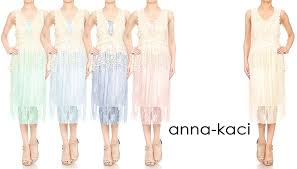 anna kaci womens vintage lace gatsby 1920s cocktail dress with