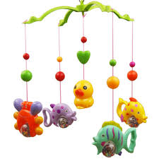 2017 wholesale 2016 new music rattles bed bell lovely baby child