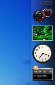 gadget de bureau meteo vista installer un gagdet sur votre bureau