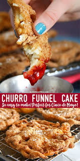 easy churro funnel cake kleinworth u0026 co