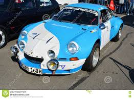 renault alpine a110 renault alpine a110 berlinette classic sports car editorial stock