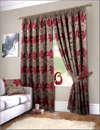 Grey Curtains Red And White Curtains Red With White Curtains Background Vector