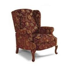 Wingback Recliners Chairs Living Room Furniture Spindale High Leg Recliner By La Z Boy Living Room Pinterest
