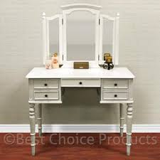 Walmart Writing Desk by White Vanity Table Jewelry Makeup Desk 5 Drawer Indoor Home