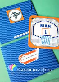 design free printable thunder basketball birthday invitations