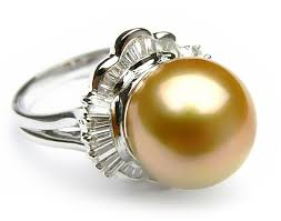 golden pearl rings images Ring index php golden south sea pearl diamond ring 11 stunning jp