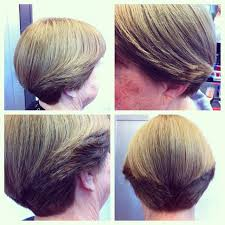 wedge haircuts front and back views 313 best 17605 wedge hairstyles images on pinterest short