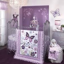 Lavender Butterfly Crib Bedding Butterfly 5pc Crib Bedding Set 310140659