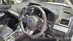 subaru thailand subaru levorg dashboard at 2015 thailand motor expo indian autos