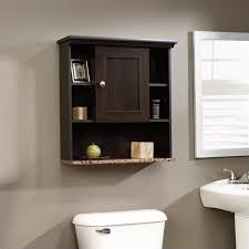 Cherry Bathroom Wall Cabinet Sauder Peppercorn Wall Cabinet Cinnamon Cherry Walmart