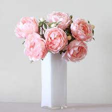 peonies bouquet luxury artificial mixed peonies bouquet amaranthine blooms