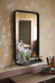 Bathroom Mirror Remodel The Most Metal Frame Pharmacy Mirror With Shelf Foyer Pinterest