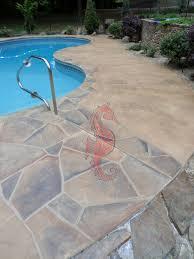 How To Resurface Concrete Patio Concrete Pool Deck Greenville Sc Unique Concrete Design Llp