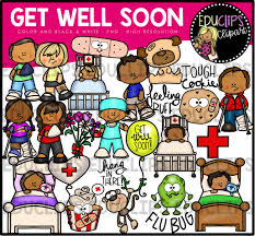 get well soon for children get well soon clip bundle color and b w welcome to