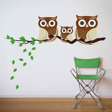 Nursery Owl Wall Decals For Your Bedroom And Living Room Make It Owl Wall Decals