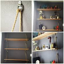winsome diy wall hanging shelf wall mounted shelves with wall