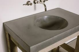 products sinks orb bowl concrete sink slot drain designer interior