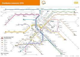 Printable Map Of Germany by Stuttgart U Bahn Map