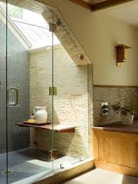 making a small bath feel spacious tile showers bathroom tiling