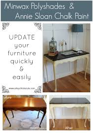 Modernizing Antique Furniture by Update Old Wood Stained Furniture Easily U0026 Quickly Sofa Table