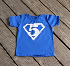 superman birthday shirt free printables homemade