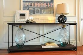 The Art Of Decorating A Front Entrance by Console Tables Sofa Table Custom Designs The Casteel Console