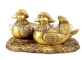aliexpress help copper mandarin duck ornaments wedding gifts help marriage marital