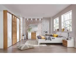 schlafzimmer set weiss schlafen kentucky schlafzimmer set in glas weiß eiche massiv