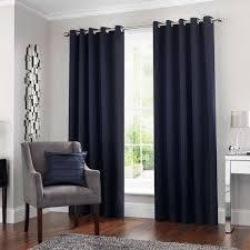 Navy Curtain 5a Fifth Avenue Venice Navy Blackout Eyelet Curtains Dunelm