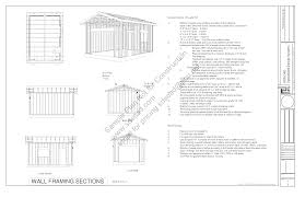 g443 14 x 20 10 garage plans blueprints downloadable clipgoo