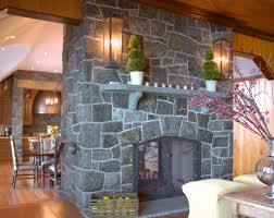 stone fireplace designs fireplace stone veneer fireplace stone creating a rustic natural interior divider with the dark grey stones on how to decorate a fireplace