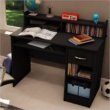 small black computer desk awesome black desk for bedroom view full size small black bedroom